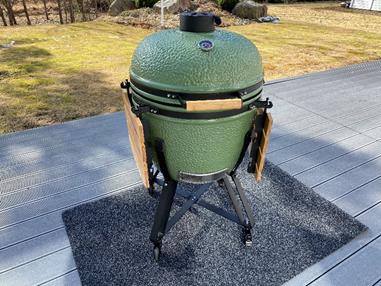 Kamado-grillin käyttöönotto