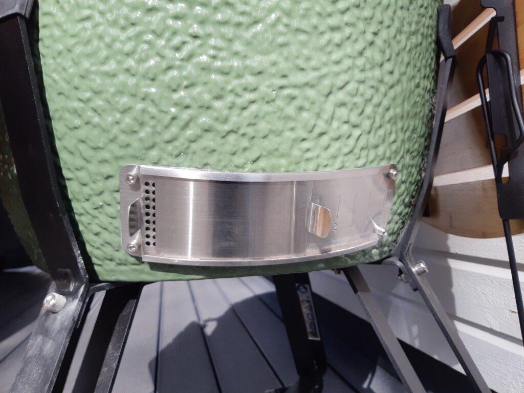 aukkojen asento kun tehdään kylmäsavulohta kamadolla